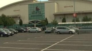 Quays shopping centre, Newry