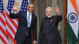 The two leaders have pledged to further strengthen India-US ties