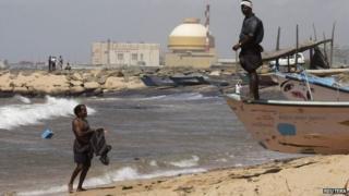 Kudankulam nuclear plant in India's Tamil Nadu