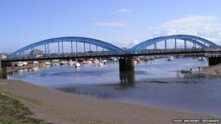Foryd Bridge Rhyl
