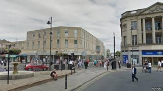 Boots corner in Cheltenham town centre