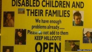 Save Hillcote campaign poster