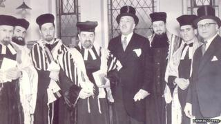 1964 consecration of Somerton Road Synagogue in north Belfast