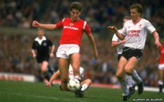 Manchester United v Liverpool in 1985