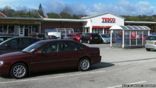 Tesco off Dodds Lane, Wrexham