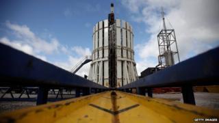 Cuadrilla fracking site in Preston