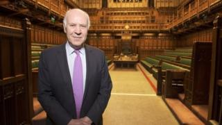Michael Cockerell in the House of Commons