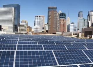 solar panels in Minneapolis