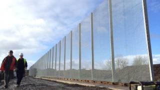 Work is under way at Wrexham industrial estate