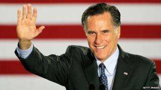 Former Republican presidential nominee Mitt Romney.