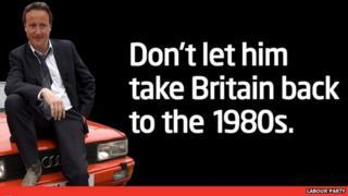 A 2010 Labour Party campaign poster