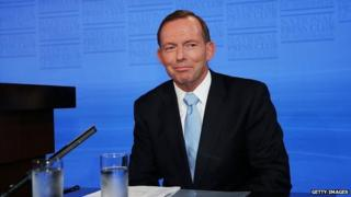Australian PM Tony Abbott (2 Feb 2015)
