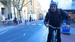 "Matthew Price tackling ""Muesli Mountain"" in Brighton Humiliation – going green in Brighton did our man in."