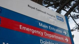 RCHT Emergency Department sign