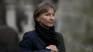 Marina Litvinenko at the Royal Courts of Justice