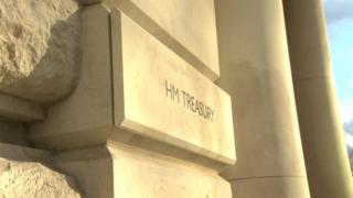 Treasury headquarter in London