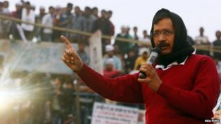 Arvind Kejriwal is leading the AAP's campaign in Delhi