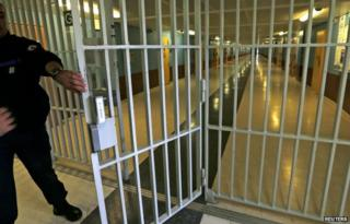 Fleury Merogis is Europe's largest prison, with close to 4,000 inmates