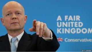 Leader of the House of Commons William Hague