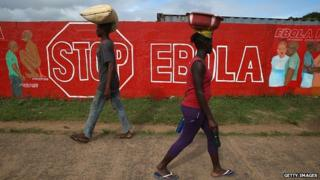 Liberia Ebola awareness campaign, 20 October 2014