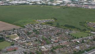The proposed enterprise zone site boundary