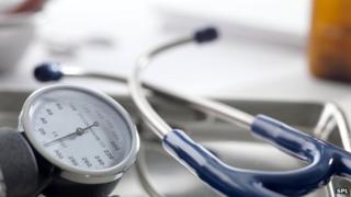 Sphygmomanometer in hospital