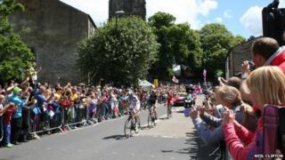 Tour de France in Skipton