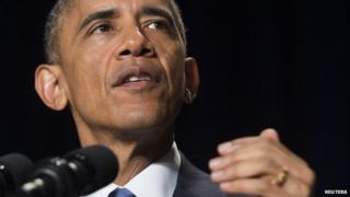 Mr Obama criticised groups that use religion to spread hatred in the world
