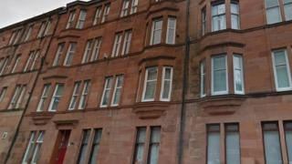 Tenement flats in Govanhill