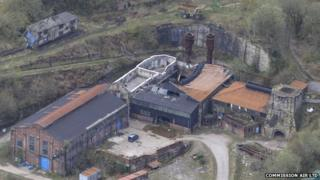 Brymbo iron and steel works site