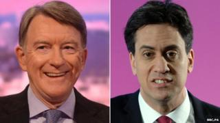 Lord Mandelson, Ed Miliband