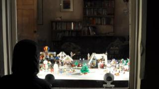 Lego winter wonderland was very popular with children and adults