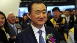 Wang Jianlin, chief executive of Dalian Wanda Commercial Properties