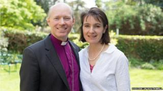 Bishop Williams with his wife Sarah