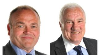 Alan Beveridge (left) and John Taggart (right)