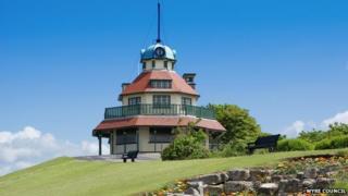 The Mount pavilion