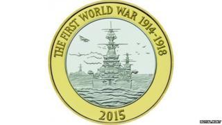 Royal Mint New £2 royal navy coin