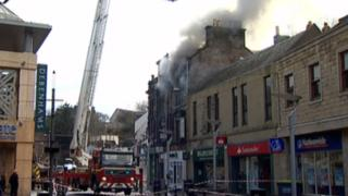 Fire at Eastgate Hostel in Inverness