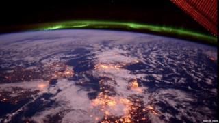 Image taken by Nasa astronaut Terry W Virts