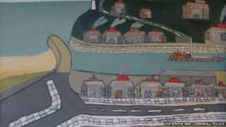 Portreath by St Ives artist-based Bryan Pearce. Pic: Via Devon and Cornwall Police