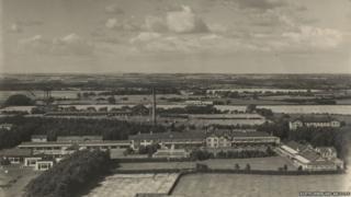 Aerial View of Stannington Sanatorium