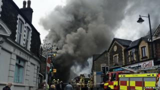 Newbridge fire