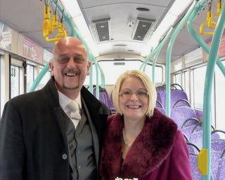Mick Wilson and wife Denise