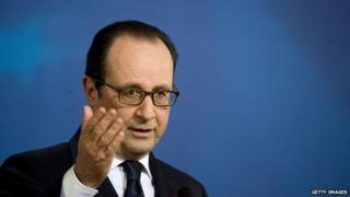 President Hollande address to the Council of Europe. 13 February 2015