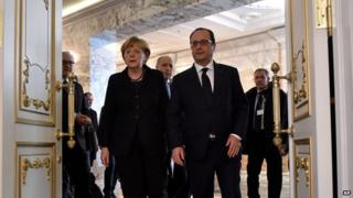 Fractures between the negotiating parties' positions were reflected in the body language on display