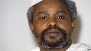 Hissene Habre. File photo