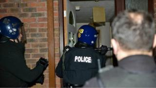 Raids in West Berkshire