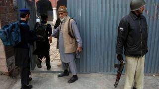 school entrance Peshawar