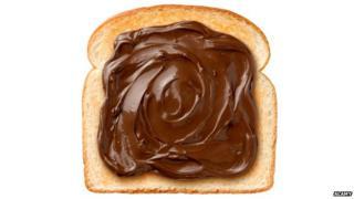 Nutella on toast