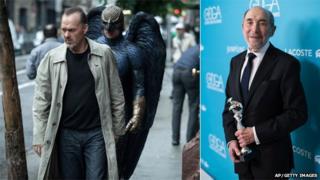 Birdman still and Albert Wolsky